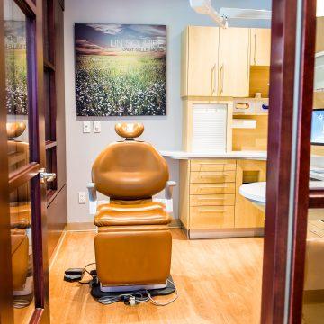 Visite de la clinique - Salle de consultation